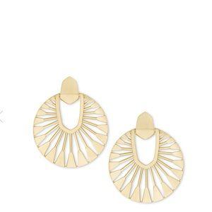 Kendra Scott Didi Sunburst Statement Earrings